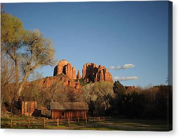 Sedona 014 Canvas Print by Earl Bowser