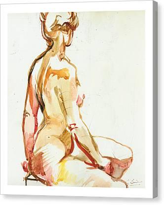 Seraphina Canvas Print by Gerard Bimson