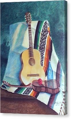 Serenata Mexicana Canvas Print by Fernando A Hernandez