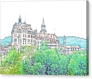 Sigmaringen Palace Germany Canvas Print by Joseph Hendrix