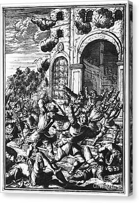 Sir Henry Morgan Canvas Print by Granger