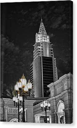 Skyscraper Canvas Print by Stephen Campbell