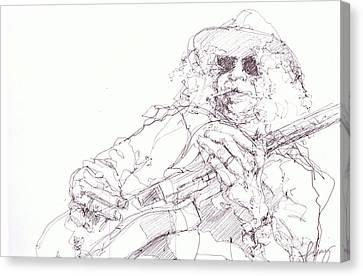 Slash Canvas Print by Bobby LeVangie