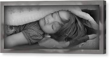 Sleeping Beauty Canvas Print by Elizabeth  Doran