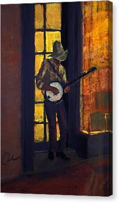 Slim Pickens Canvas Print by Cheryl Whitehall