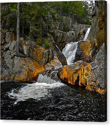 Smalls Falls 3 Canvas Print by George Ramos