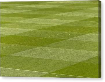 Soccerfield Canvas Print by Karin Haas