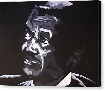 Son The Preacher Canvas Print