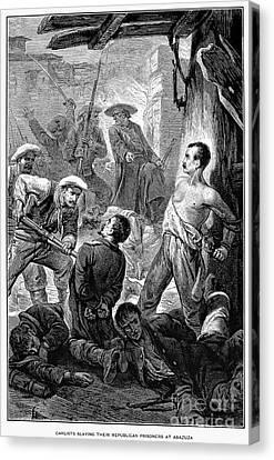 Spain: Second Carlist War Canvas Print by Granger