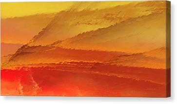 Spray Canvas Print