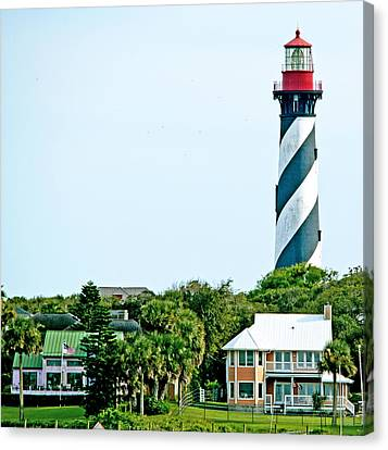 St. Augustine Lighthouse Canvas Print by Kenneth Albin