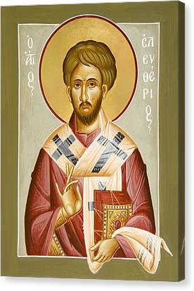 St Eleftherios Canvas Print - St Eleftherios by Julia Bridget Hayes