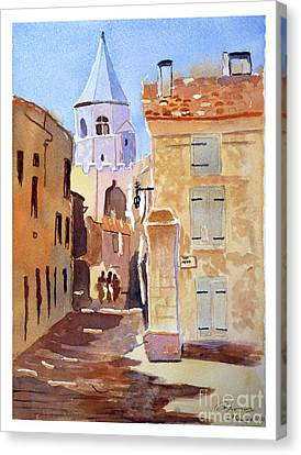 St Martin's Tower France Canvas Print