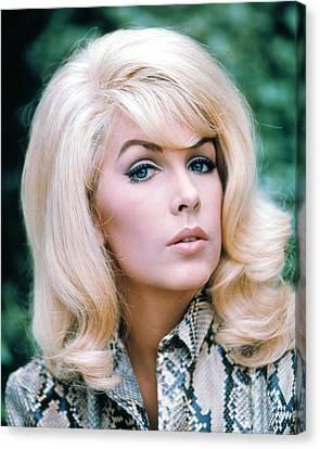 1960s Hairstyles Canvas Print - Stella Stevens, 1960s by Everett