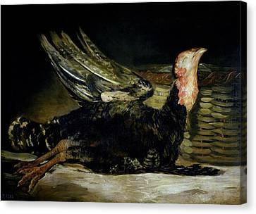 Still Life Canvas Print by Goya