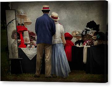 Store - The Hat Stand  Canvas Print by Mike Savad