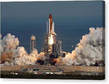 Sts-122 Launch Canvas Print