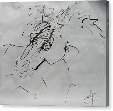 Sumi 2 Canvas Print