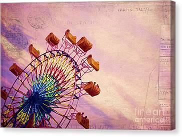 Summer Fun Canvas Print by Darren Fisher