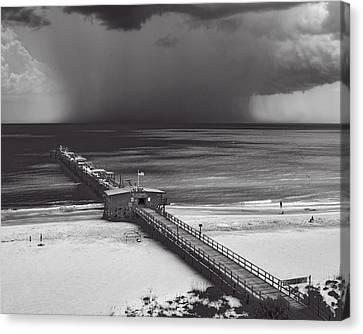 Summer Storm Canvas Print by Gordon Engebretson