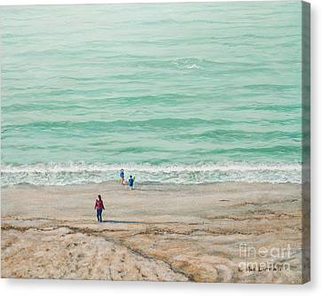 Summer Vacation Canvas Print
