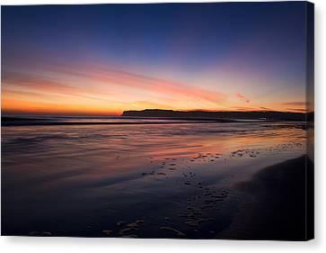 Sunset Canvas Print by Benjamin Street
