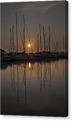 Sunset Canvas Print by Joana Kruse