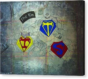 Supermen Canvas Print