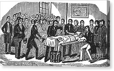 Surgery Without Anesthesia, Pre-1840s Canvas Print by Science Source