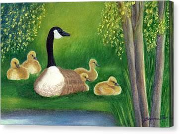 Sweet Repose  Canvas Print by Jeanne Kay Juhos