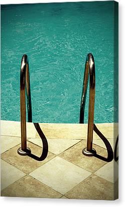 Swimming Pool Canvas Print by Joana Kruse