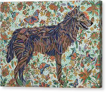 Tamed Canvas Print by Erika Pochybova