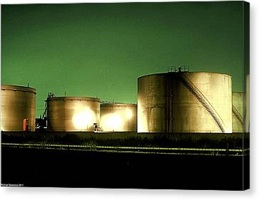 Tanks Canvas Print by Michael Nowotny