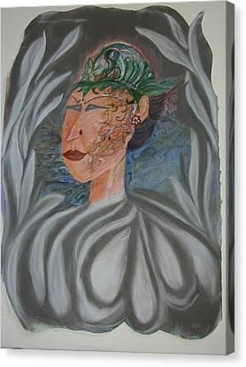 Beauty Mark Canvas Print - Tattoo You by Marian Hebert