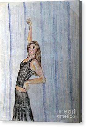 Taylor's Haunting Canvas Print