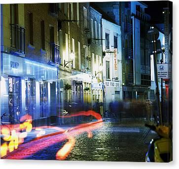 Temple Bar, Dublin, Co Dublin, Ireland Canvas Print by The Irish Image Collection