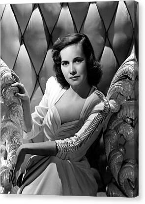 Teresa Wright, Ca. Early 1940s Canvas Print by Everett