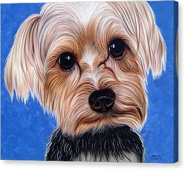Terrier Canvas Print