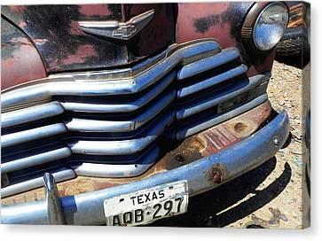 Texas Canvas Print by Chuck Re