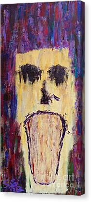 The Anguish That Befalls Me Canvas Print by Scott Gearheart