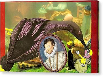 The Aquarium Canvas Print by Rob M Harper