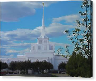 The Church Canvas Print by Darrel Froman