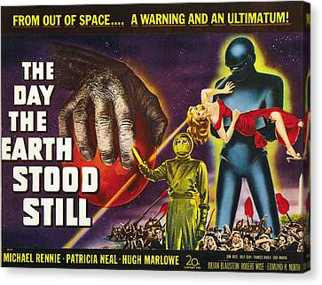 Jbp10ma14 Canvas Print - The Day The Earth Stood Still, 1951 by Everett