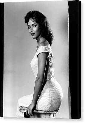The Decks Ran Red, Dorothy Dandridge Canvas Print