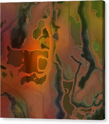 The Dream Scream Canvas Print by Richard Fisher