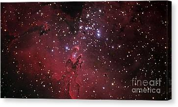The Eagle Nebula Canvas Print by R Jay GaBany