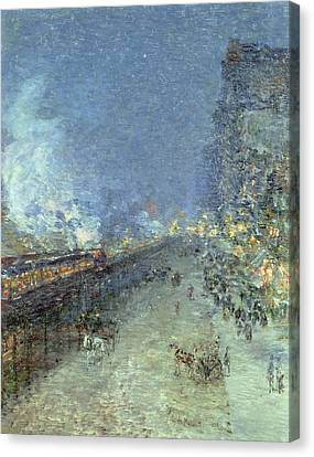 The El Canvas Print by Childe Hassam