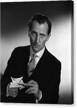 The End Of The Affair, Peter Cushing Canvas Print by Everett
