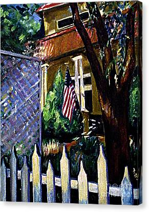 The Grant House Canvas Print by Karen Francis