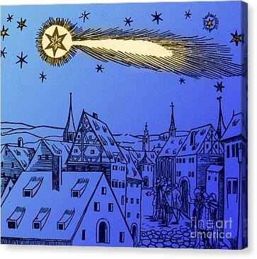 The Great Comet Of 1556 Canvas Print by Science Source